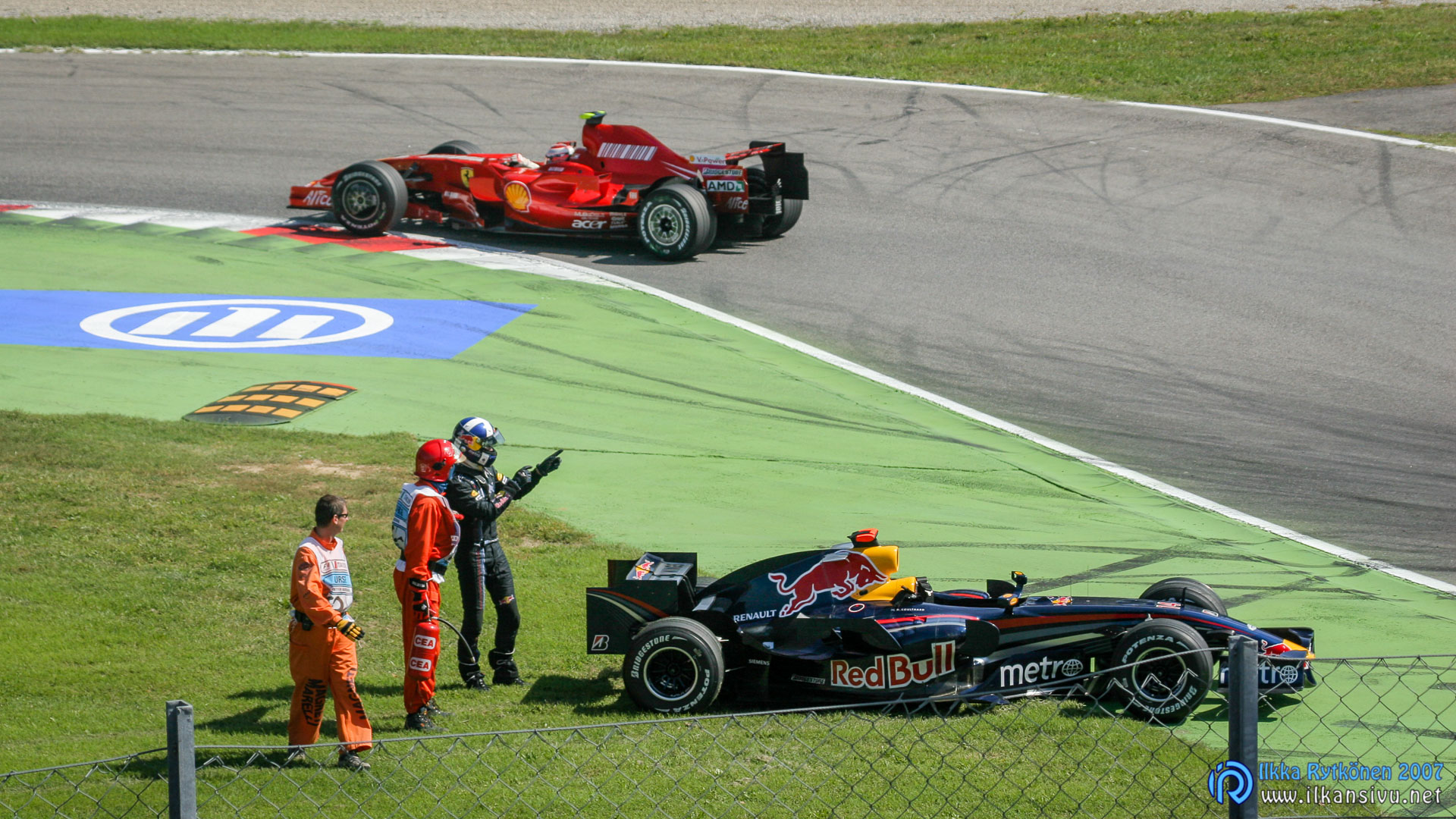 F1 aika-ajo Q1: David Coulthard, Red Bull Renault RB3